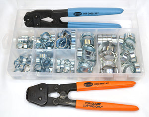 18500057 Service Kit (with side jaw pincers & hand clamp cutter)