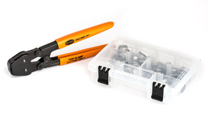 50 Clamps - I.D. Clamp Range of 16.2 mm to 21 mm (with Hand Clamp Cutter )