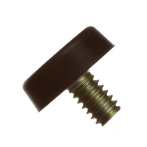 Rubber Foot, .250, 1/4-20 Stud