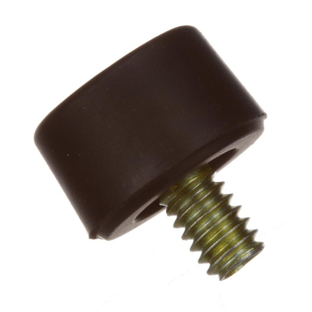 Rubber Foot, .480, 1/4-20 Stud