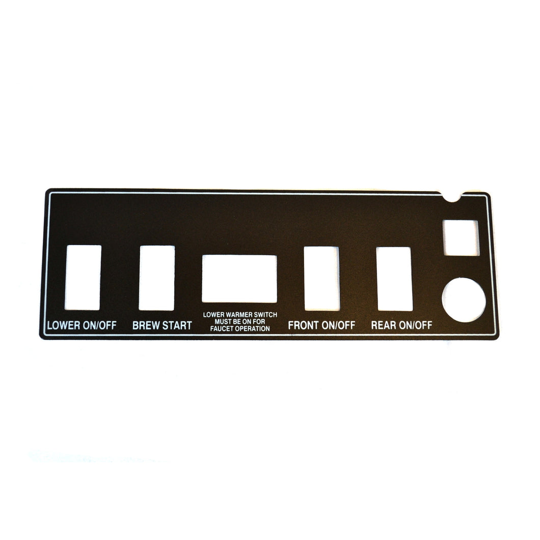 Decal, 7 Holes, Black