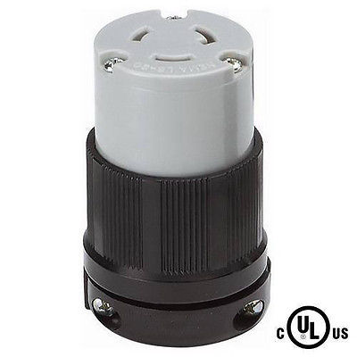 Grounding Locking Connector, NEMA L6-20