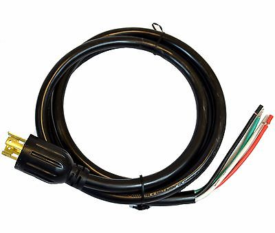 8' 10/4 Power Cord, SJTOW, 10AWG 4 Wire, L14-30P to ROJ