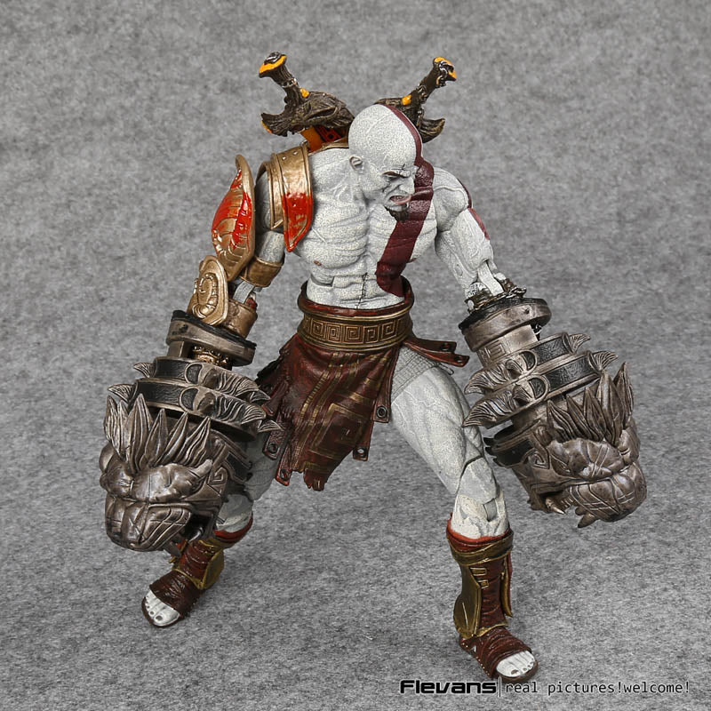 NECA God of War 3 Ghost of Sparta Kratos Action Figure Collectible Model Toy 22cm - WeRToyz