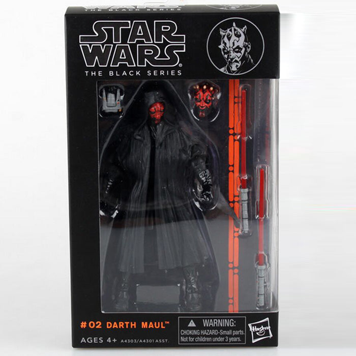 Star Wars The Black Series Darth Maul Action Figure Collectible Toy