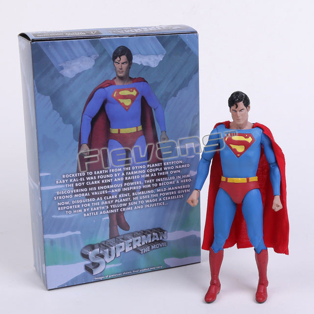 "NECA DC Comics Superman  PVC Action Figure Collectible Toy 7"" 18cm - WeRToyz"