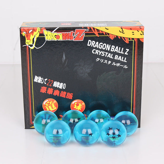 Dragon Ball Z 1set 3.5CM DragonBall 7 Stars Crystal Ball Set of 7 pcs Dragon Ball Z Balls Complete Set action figures 7 Stars - WeRToyz