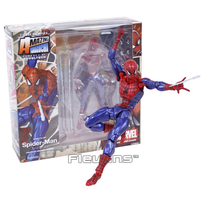 Revoltech Series The Amazing Spider Man Action Figure Collectible Toy |  Action Figures | WeRToyz