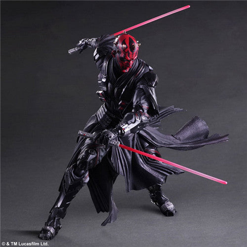 PlayArts KAI Star Wars Darth Maul Action Figure Collectible Model Toy