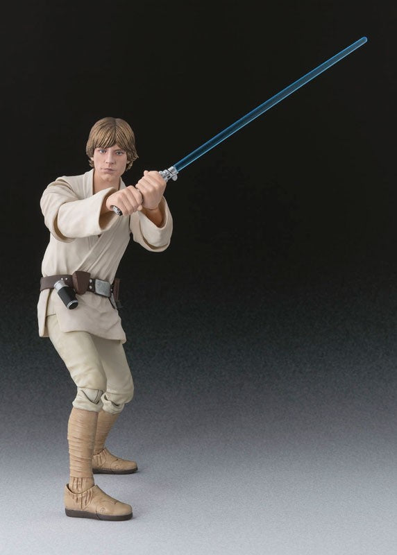 """Star Wars"" Original BANDAI Tamashii Nations S.H.Figuarts Luke Skywalker (A NEW HOPE) 