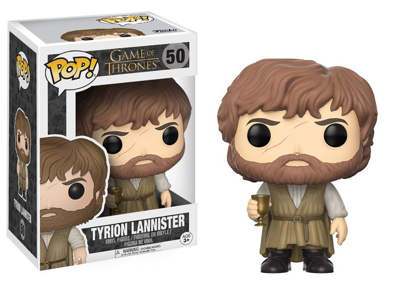 Official Funko pop Movies: Game of Thrones - Tyrion Lannister Collectible Toy |  Vinyl Figure | WeRToyz