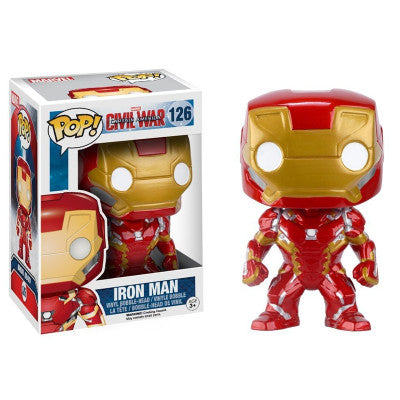 Funko POP Captain America 3 Civil War Iron Man Vinyl Figure Model Toy with Fancy Box |  Vinyl Figure | WeRToyz