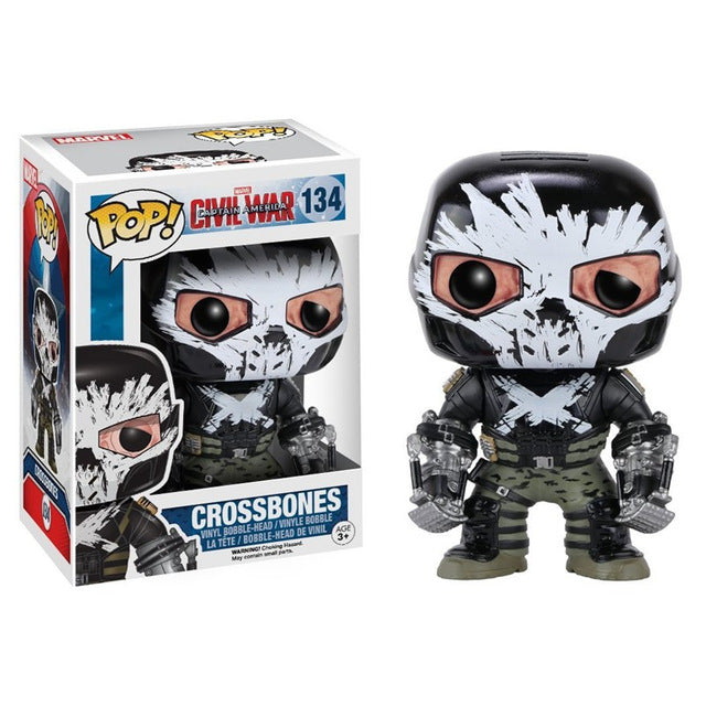 Funko POP Captain America 3 Civil War Crossbones Vinyl Figure Model Toy with Fancy Box - WeRToyz