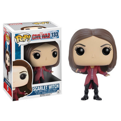 Funko POP Captain America 3 Civil War Scarlet Witch Vinyl Figure Model Toy with Fancy Box |  Vinyl Figure | WeRToyz