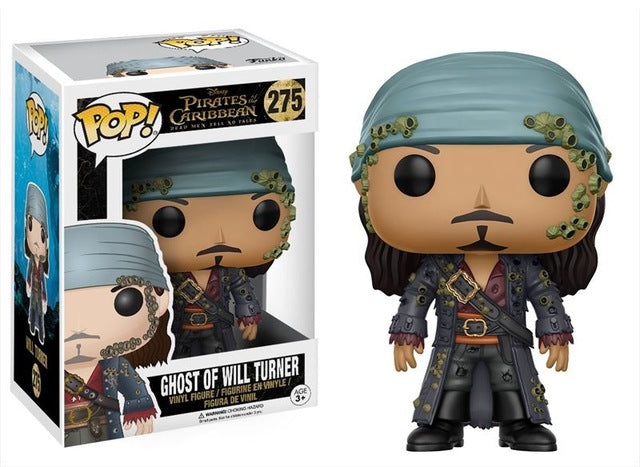 New FUNKO POP Official Pirates of the Caribbean - Will Turner  Vinyl Figure Collectible Toy - WeRToyz