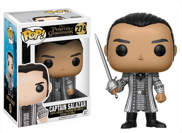 New FUNKO POP Official Pirates of the Caribbean - Captain Salazar Vinyl Figure Collectible Toy |  Action Figures | WeRToyz