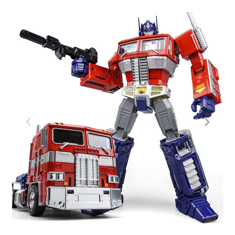 KBB Transformation OP Commander MP10V Alloy Metal Collection Voyager With Backpack KBB Deformation Action Figure Robot Toys - WeRToyz
