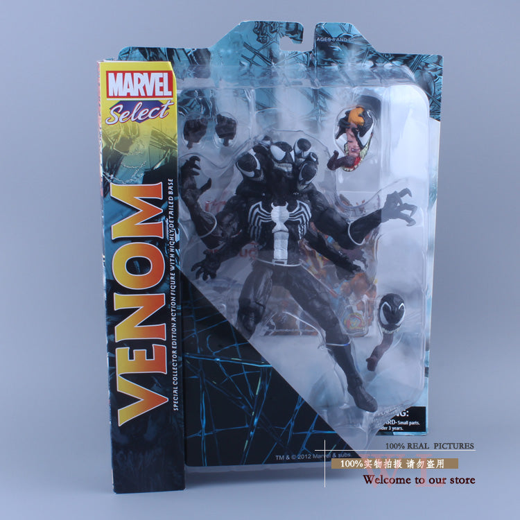 Marvel Select The Amazing Spider-man 2 Venom Action Figure Toy - WeRToyz