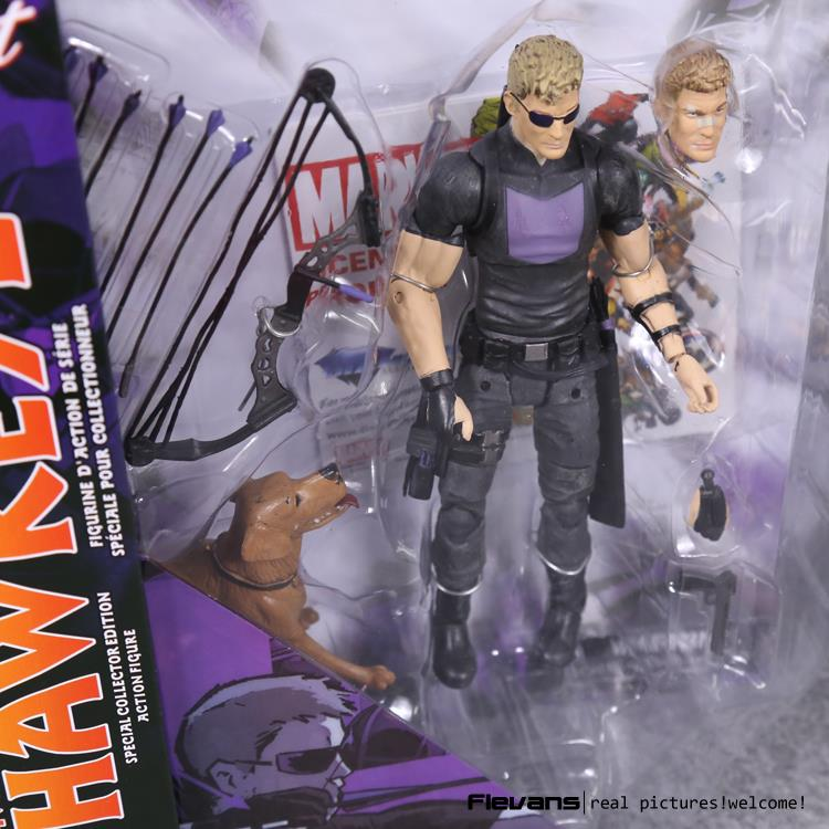 Marvel Select Hawkeye PVC Action Figure Collectible Model Toy - WeRToyz