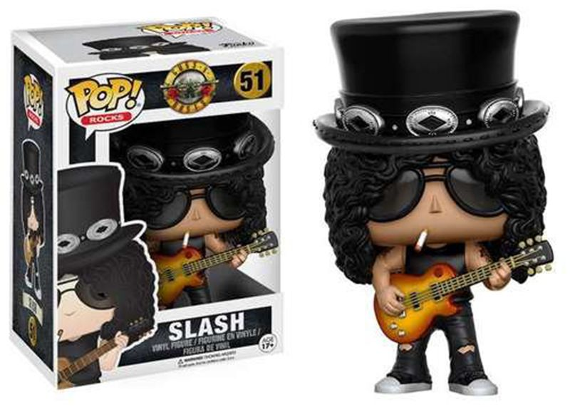 In Stock Funko pop Official Guns N Roses Rocks: Slash Vinyl Action Figure Collectible Model Toy with Original Box - WeRToyz