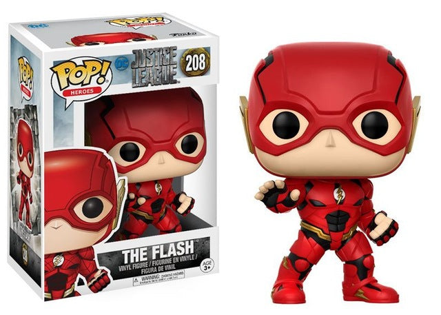 Funko pop Original Movies: Justice League -  The Flash Action Figure Collectible Model Toy - WeRToyz