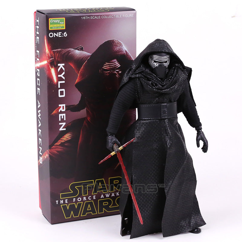 Crazy Toys Star Wars The Force Awakens Kylo Ren 1/6 Scale Collectible Figure Toy |  Action Figures | WeRToyz