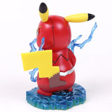 Pikachu Cosplay The Flash Cartoon Funny Creative Design Collectible Model Toy