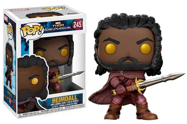 Funko pop Thor Ragnarok Heimdall Vinyl Figure Collectible Model Toy - WeRToyz
