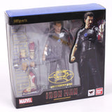 SHFiguarts Iron Man Tony Stark with Tony's Powerd Stage Action Figure Collectible Toy |  Action Figures | WeRToyz