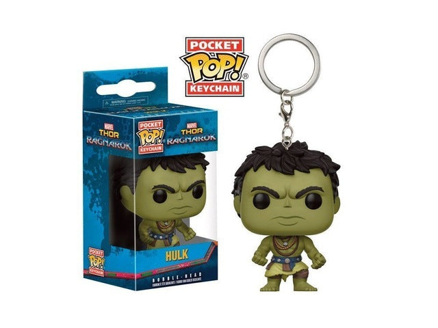 Official Funko Pop Keychain Thor Ragnarok: Hulk Action Figure Key Chain |  Vinyl Figure | WeRToyz