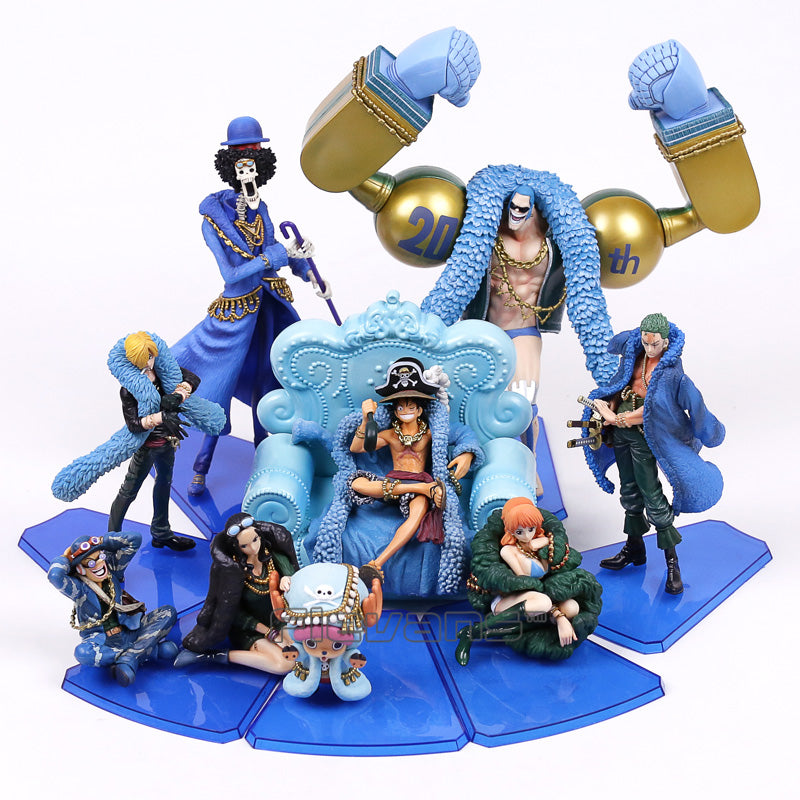 Anime One Piece 20th Anniversary Complete Set Figure Toys - WeRToyz
