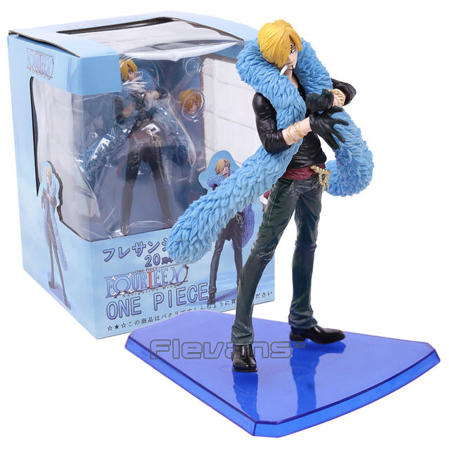 Anime One Piece 20th Anniversary Sanji Figure Toys - WeRToyz