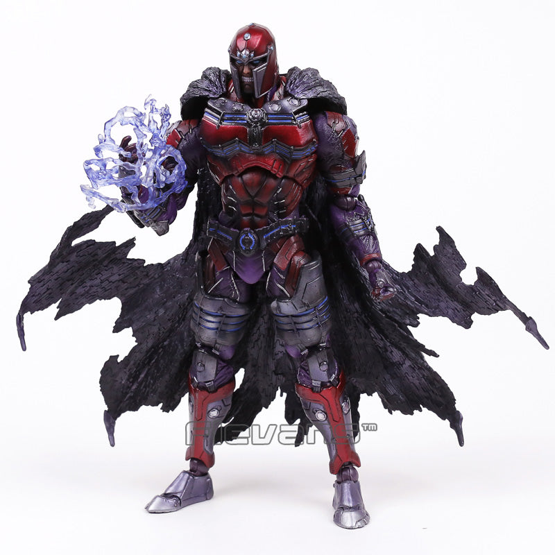 PLAY ARTS KAI X-men Magneto Action Figure Collectible Toy