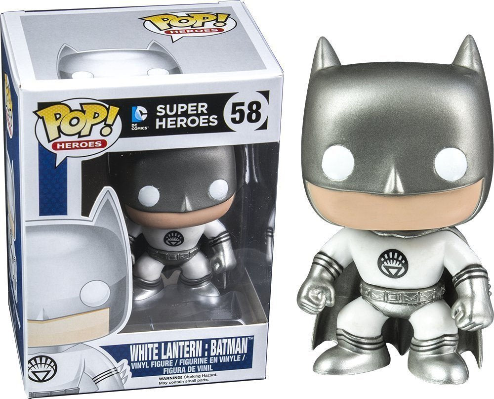 Exclusive Funko Pop DC Comics: White Lantern: Batman Collectible Model Toy |  Vinyl Figure | WeRToyz