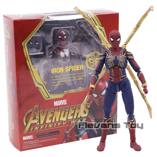 S.H.Figuarts Avengers 3 SHF Iron Spider Infinity War Action Figure |  Action Figures | WeRToyz