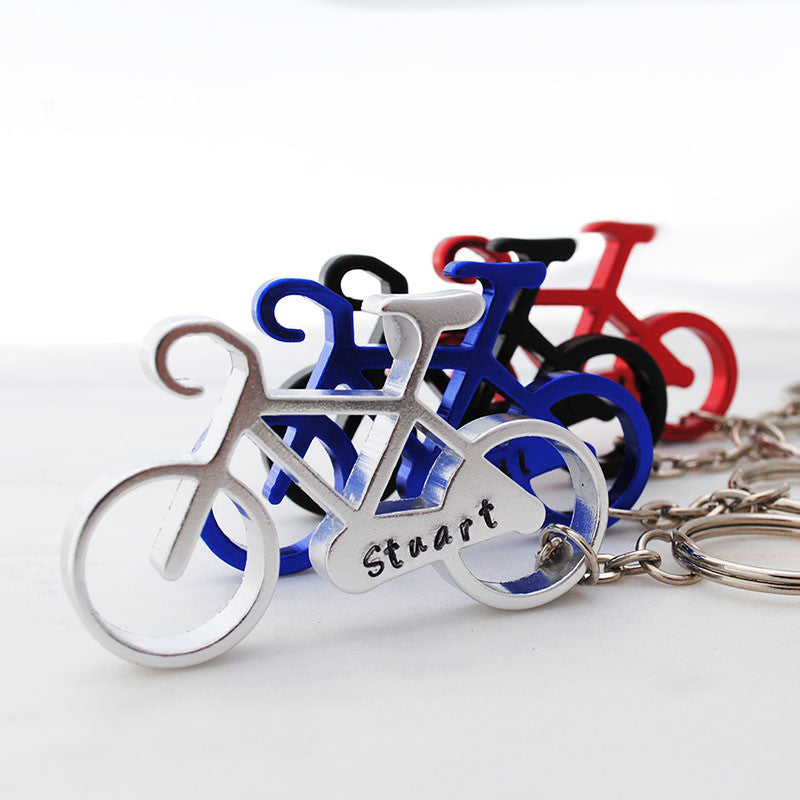 Bike Cycling key ring