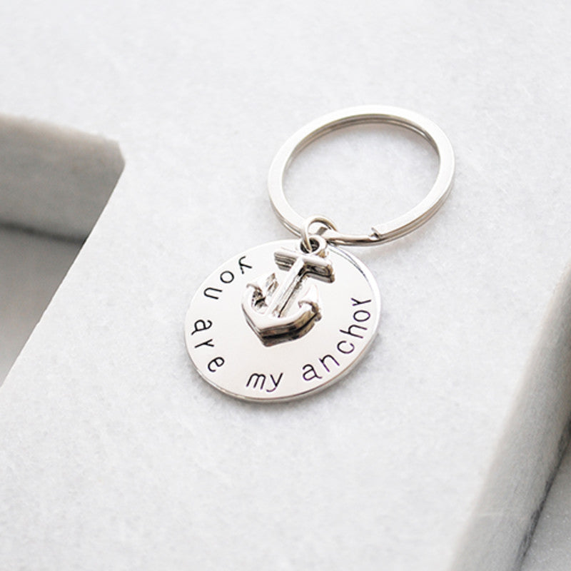 You are my anchor key ring