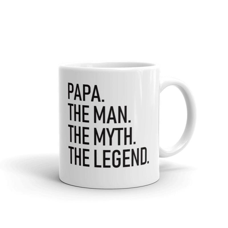 Personalised Dad. The Man. The Myth. The Legend. Mug