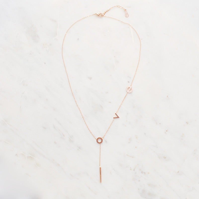 L.O.V.E. necklace