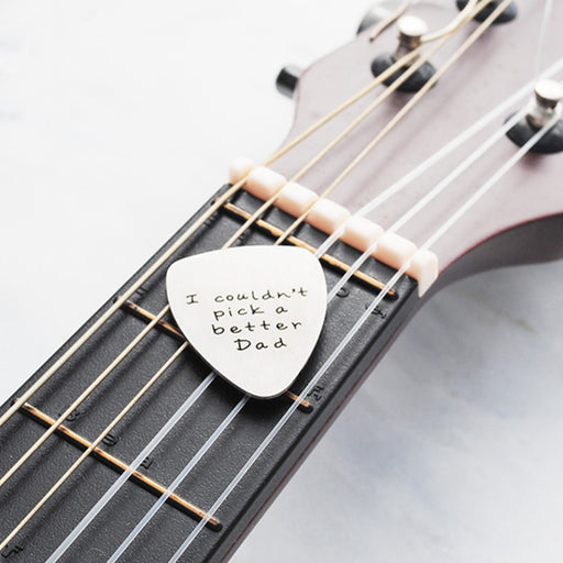 fathers day guitar pick