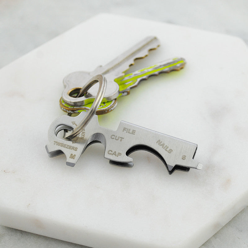 Multi-function tool 6 in 1 Key Ring - Free Shipping