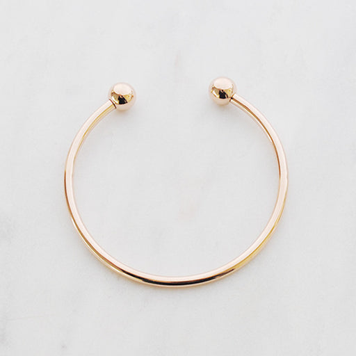 Solid love bangle