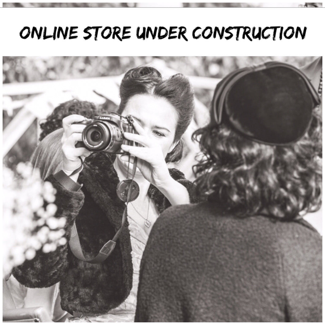 Our online store is currently under construction