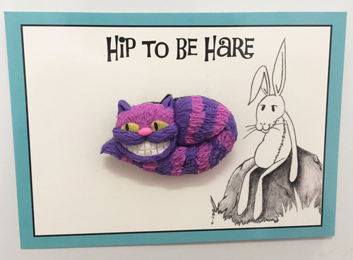 Hip to be Cheshire Cat Brooch