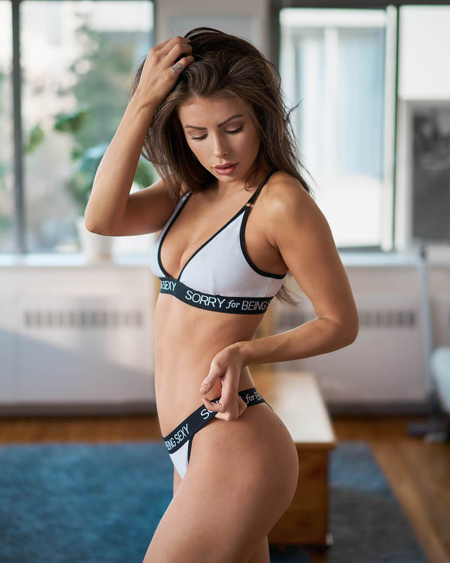White Underwear Set