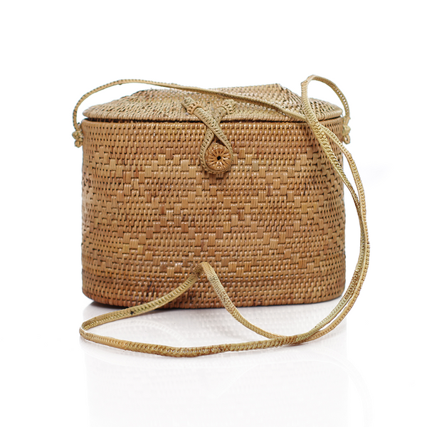 Surya Bag - Macrame  - Homeware Moonage The Label - Sustainable LekkerProject - Lekker Project
