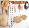 Sunray Roll Up Sun Visor - Macrame hats - Homeware Arms Of Eve - Sustainable LekkerProject - Lekker Project