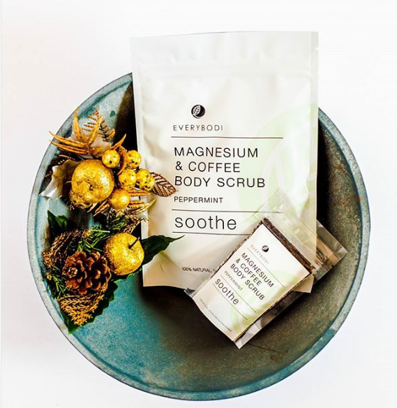 Soothe Magnesium & Coffee Scrub - Macrame Scrub - Homeware EVERYBODI - Sustainable LekkerProject - Lekker Project
