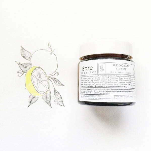 Deodorant Creme - Macrame  - Homeware Bare Botanics - Sustainable LekkerProject - Lekker Project
