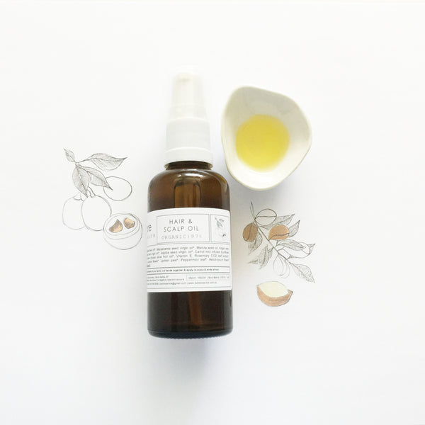 Hair & Scalp Oil - Macrame  - Homeware Bare Botanics - Sustainable LekkerProject - Lekker Project